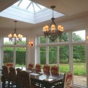 Wall Lights Suitable Conservatory : Lighting a pitched, vaulted or sloping Ceiling? Bespoke Lights