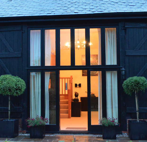 Converted Barn Feature Light by Bespoke Lights