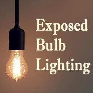 lightbulbs bare. Exposed Bulb Lighting. Lighting L Lightbulbs Bare X