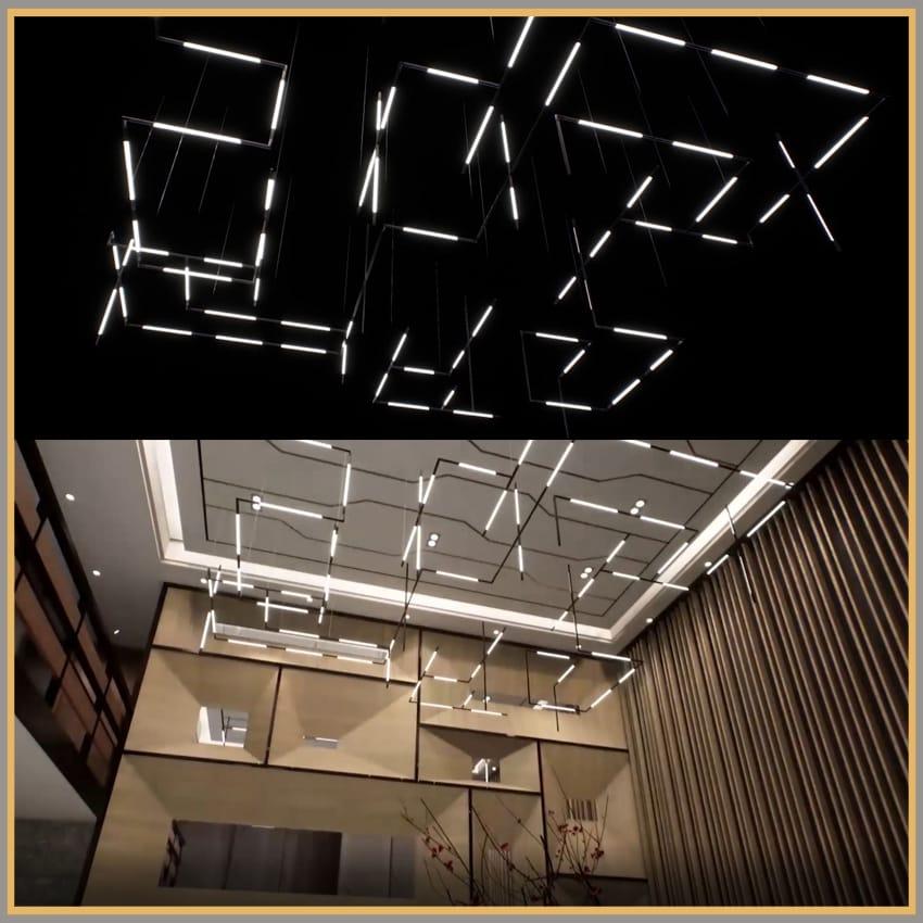 Lokuko Modular LED Lighting | Bespoke Lights