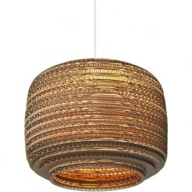 AUSI recycled scraplight ceiling pendant light (medium)