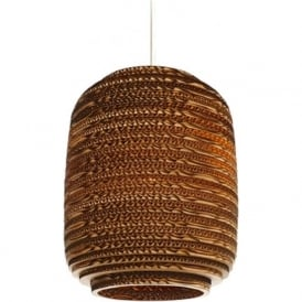AUSI recycled scraplight ceiling pendant light (small)