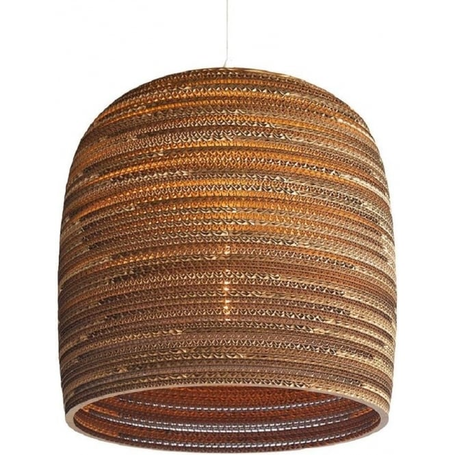 Antique, Guest Designer & Limited Edition Lights BELL recycled scraplight pendant light (medium)