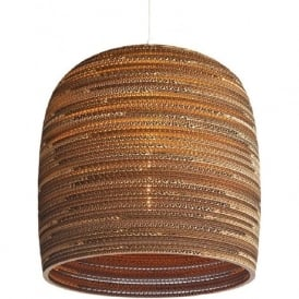 BELL recycled scraplight pendant light (medium)