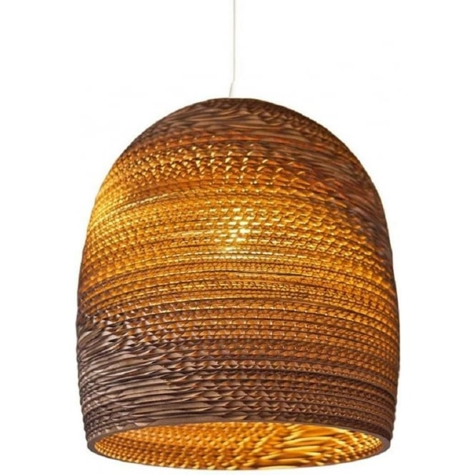 Antique, Guest Designer & Limited Edition Lights BELL recycled scraplight pendant light (small)