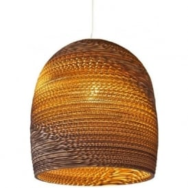 BELL recycled scraplight pendant light (small)