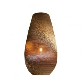 DROP recycled scraplight ceiling pendant light (large)