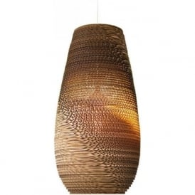 DROP recycled scraplight ceiling pendant light (medium)