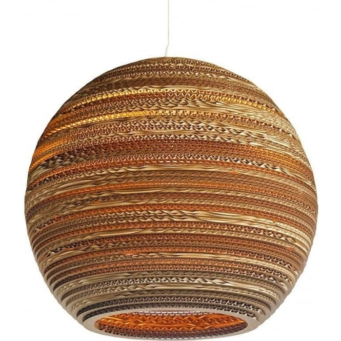 Antique, Guest Designer & Limited Edition Lights MOON recycled scraplight ceiling pendant light (large)