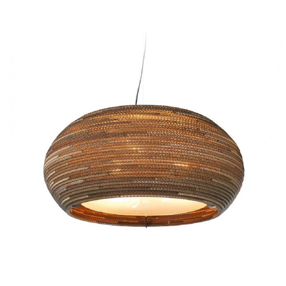 Large Scraplight Ceiling Pendant Light Made From Recycled