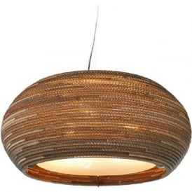 OHIO recycled scraplight pendant light (medium)