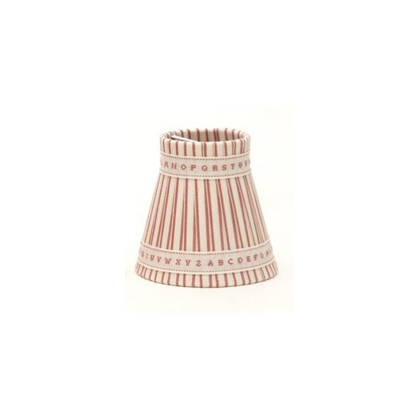 Good Pair Of ALPHABET Clip On Candle Shades