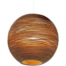 SUN recycled scraplight ceiling pendant light (large)