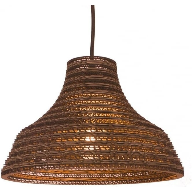 Antique, Guest Designer & Limited Edition Lights WORK recycled scraplight pendant light (medium)