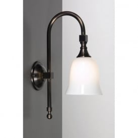 BATH CLASSIC aged brass IP44 traditional bathroom wall light
