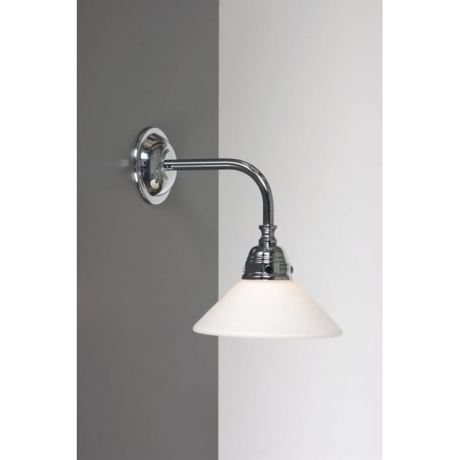 Classic victorian bathroom wall light for lighting period bathrooms Traditional bathroom accessories chrome
