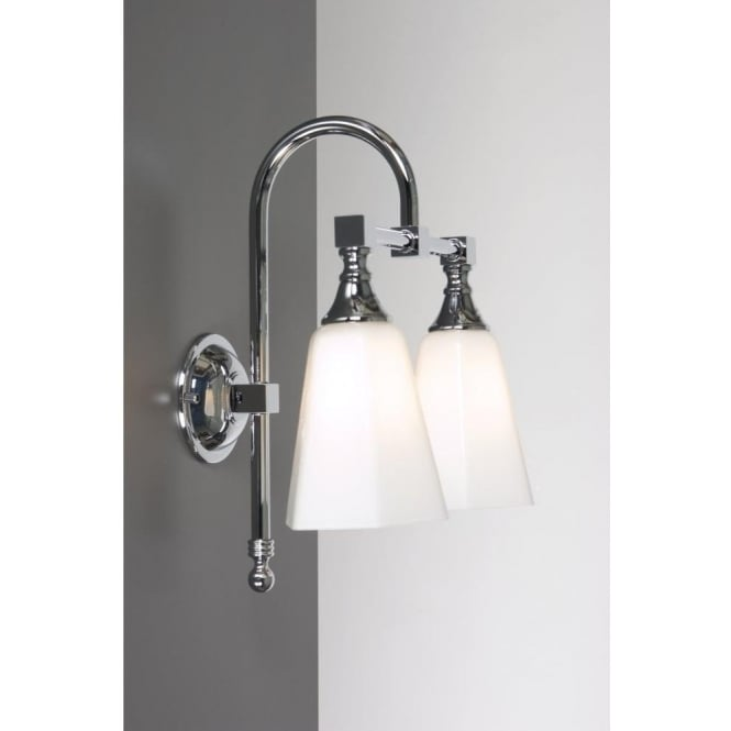 classic bathroom lighting. BATH CLASSIC Chrome Twin Bathroom Wall Light Classic Lighting U