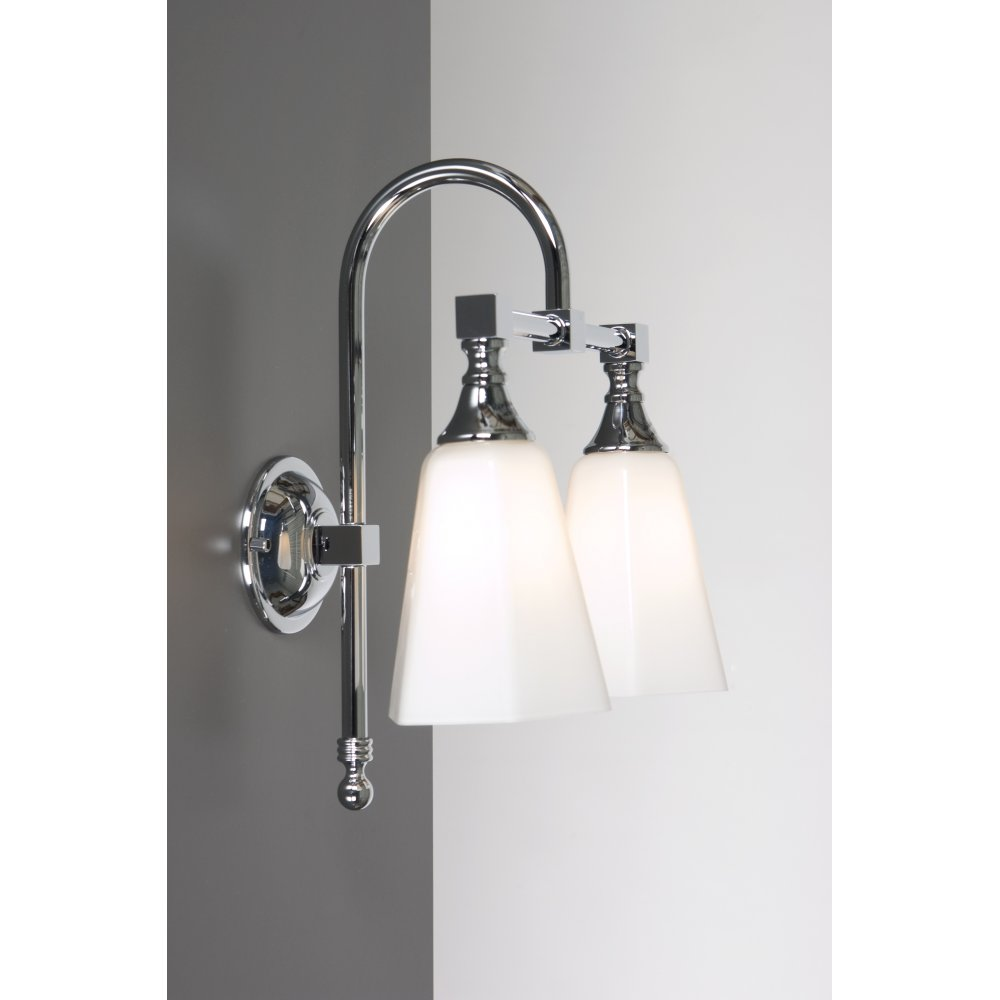 Bathroom Wall Light, Traditional Vicorian Style for Period Bathrooms