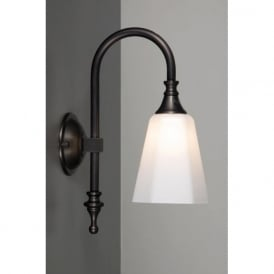 BATH CLASSIC traditional aged brass bathroom wall light