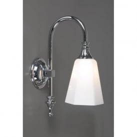 BATH CLASSIC traditional chrome bathroom wall light