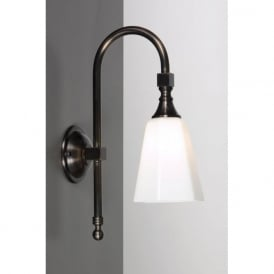 BATH CLASSIC traditional IP44 aged brass bathroom wall light