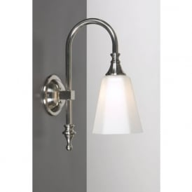 BATH CLASSIC traditional satin nickel bathroom wall light