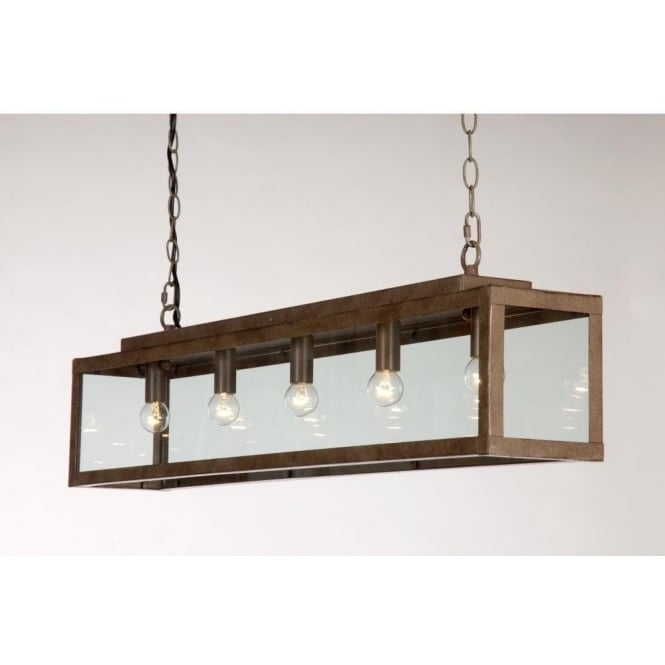Rustic drop down ceiling pendant light for over table or Kitchen table pendant lighting