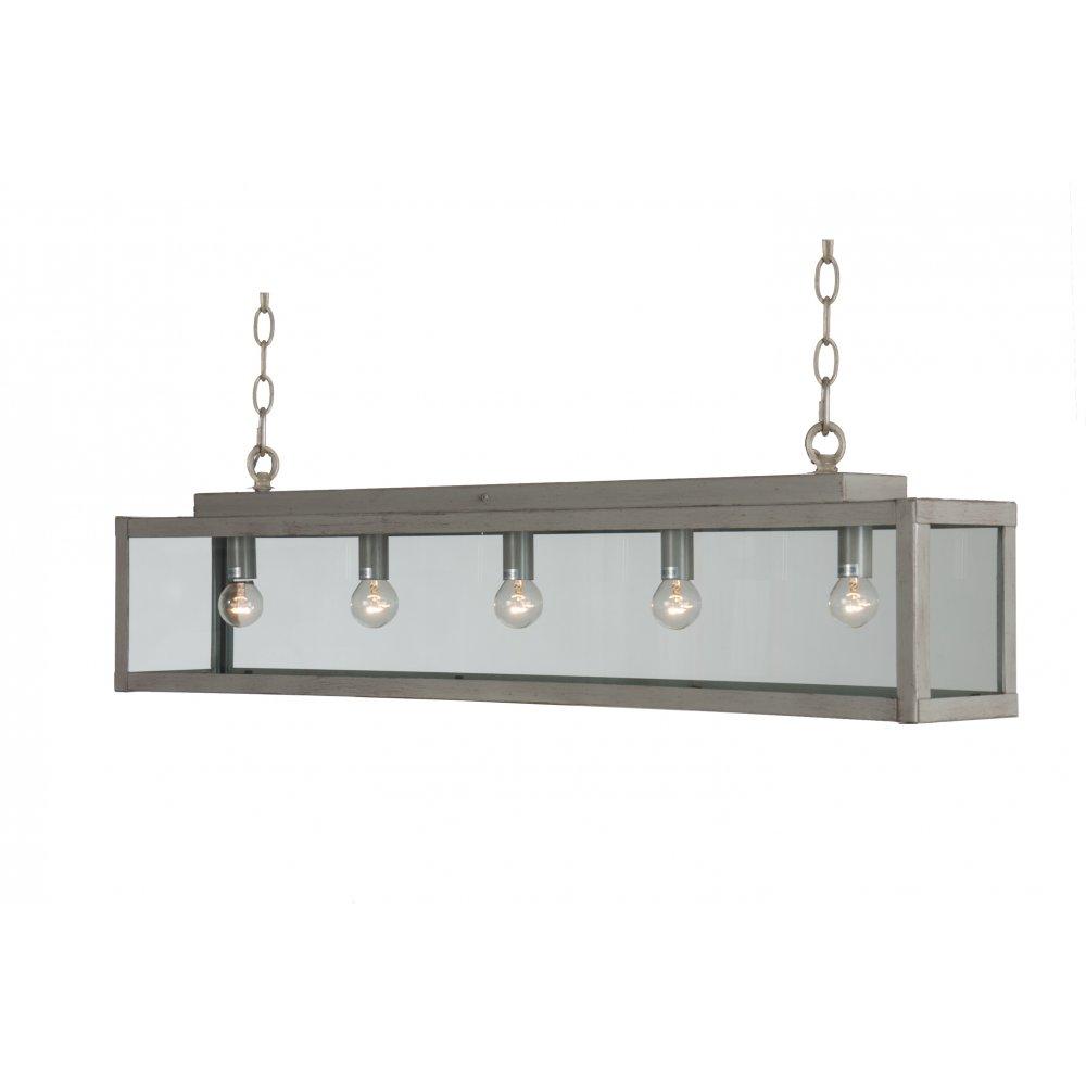 Ceiling bar suspension metal pendant light for over large for Suspended kitchen lighting