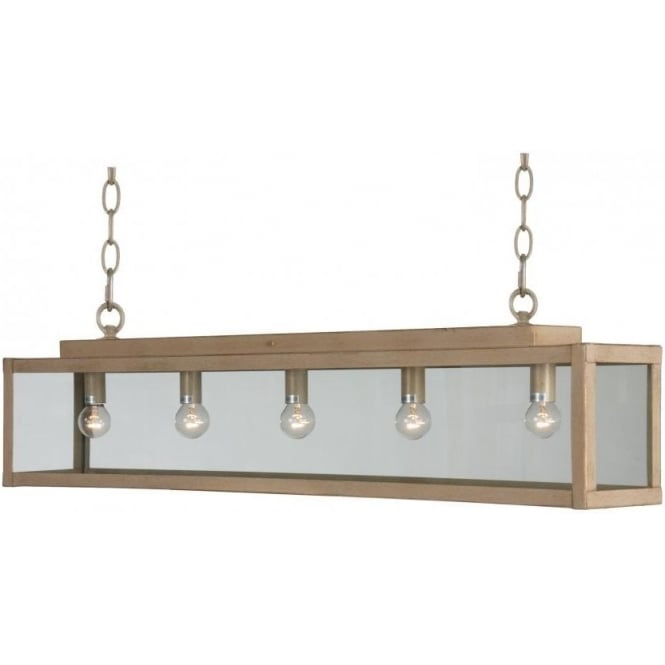 Antwerp Collection ZENIA rustic suspended bar ceiling pendant light