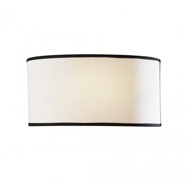Double Insulated Cream Wall Washer Light with Dark Edged Border