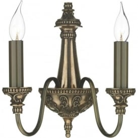 BAILEY traditional Georgian or Regency bronze wall sconce