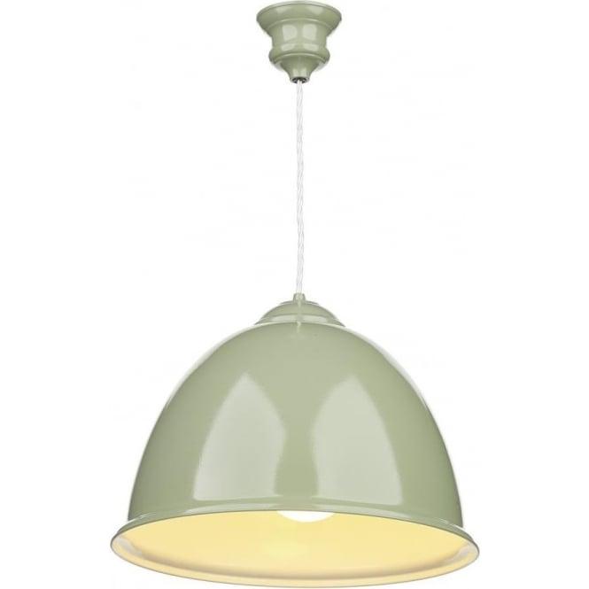 Artisan Lighting EUSTON Olive Green Hanging Ceiling