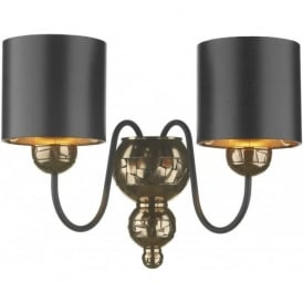 GARBO double insulated traditional bronze wall light