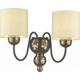 GARBO traditional bronze double wall light