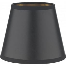 HIDCOTE black candle shade lined in gold