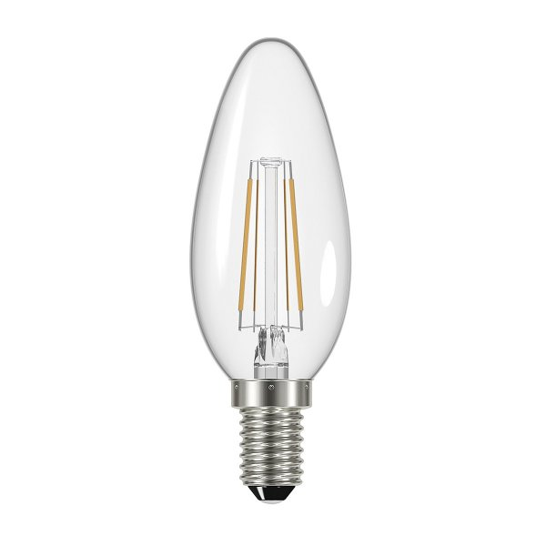 LED Chandelier Candle Bulb, 4 Watt with SES E14 Small ...