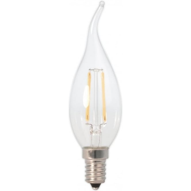 LED Flame Candle Bulbs for Chandeliers, E14 SES Small Edison Screw Cap