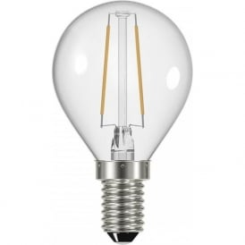LED GOLF BALL BULB 2.4 watt decorative small golf ball shaped light bulb