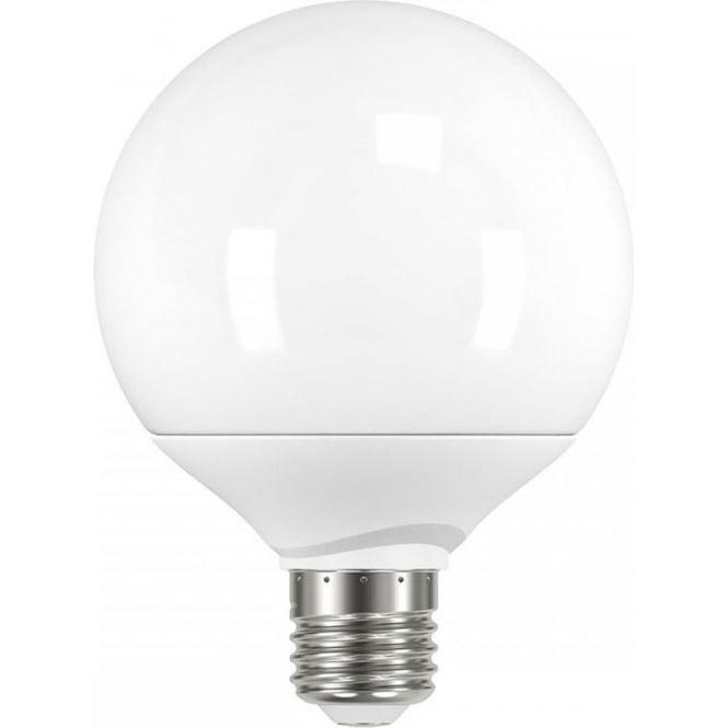 led large decor globe shaped es light bulb 9 watt in warm. Black Bedroom Furniture Sets. Home Design Ideas