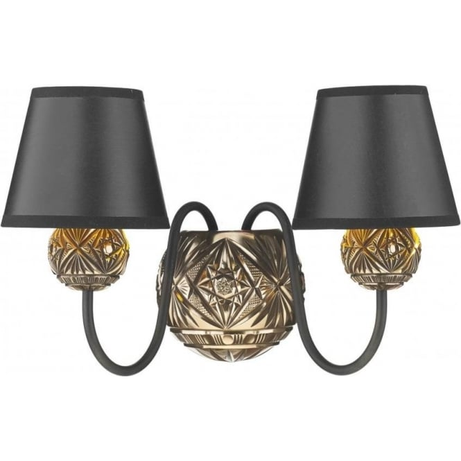 Artisan Lighting NOVELLA traditional double insulated bronze wall light
