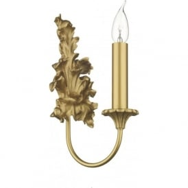 ORMOLU Rococo style single gold wall light