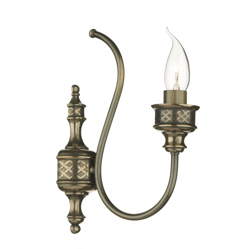 Traditional Bronze Wall Lights : Bronze Wall Light, Traditional Home Lighting for Victorian Homes