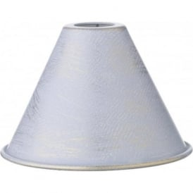 VERONA powder blue gold metal candle shade
