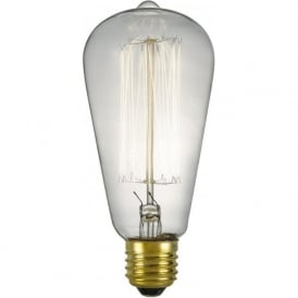 VINTAGE decorative old fashioned filament light bulb