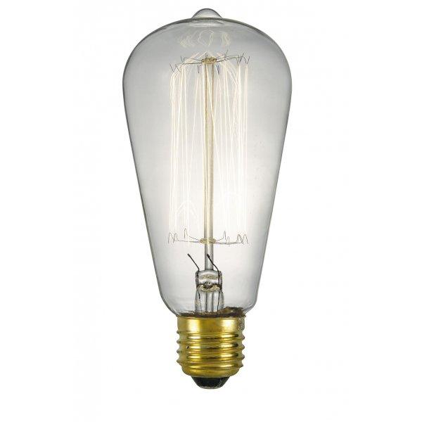 vintage valve shaped light bulb decorative old fashioned light bulb. Black Bedroom Furniture Sets. Home Design Ideas