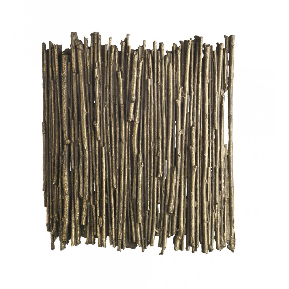 Twig Wall Panel Light With Gold Cocoa Twigs Wall Washer Style