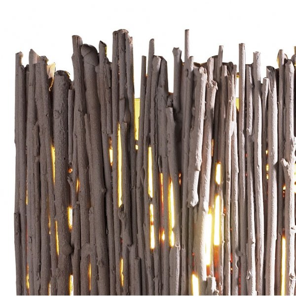 Wall Light Willow Neutral Twig Effect Unusual Low Energy