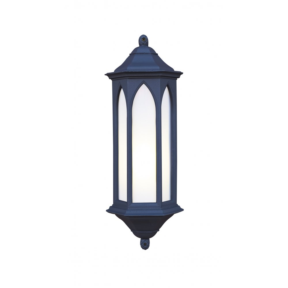 Exterior Outdoor LWall Light WINCHESTER Black Stone Gothic