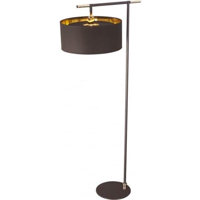 Chocolate Brown Floor Lamp With, Brown Floor Lamp