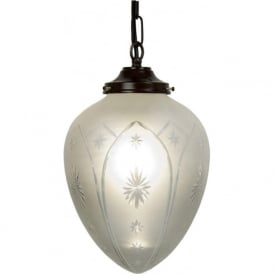 PINESTAR Victorian or Edwardian pendant lantern (medium)
